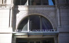 Suffolks residence hall at 1 Court St.