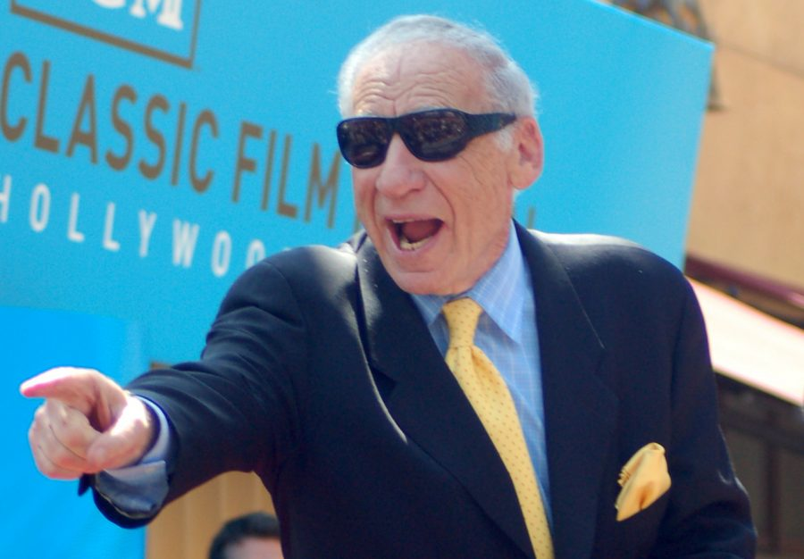 Director and comedian Mel Brooks is known for many of his comedic parodies, but his jokes in
