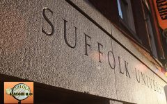 The outside of Suffolks Ridgeway building, which houses Suffolk Athletics.