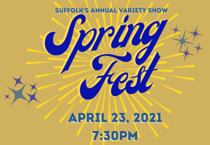 Celebrate Spring Fest, Suffolk's longest running arts tradition on April 23.