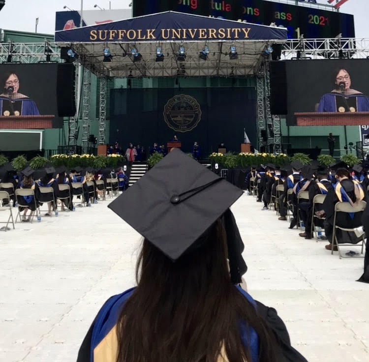 A pandemic later, Suffolk sends off 2020 and 2021 graduates