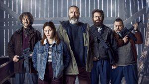 The cast of Danish film