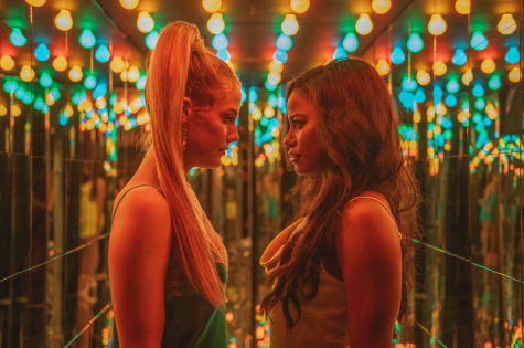 """Riley Keough and Taylour Paige star in stripper saga """"Zola."""""""