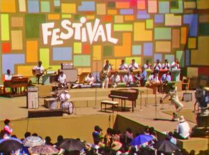 Tony Lawrence hosts the Harlem Cultural Festival in 1969, featured in Questlove's documentary