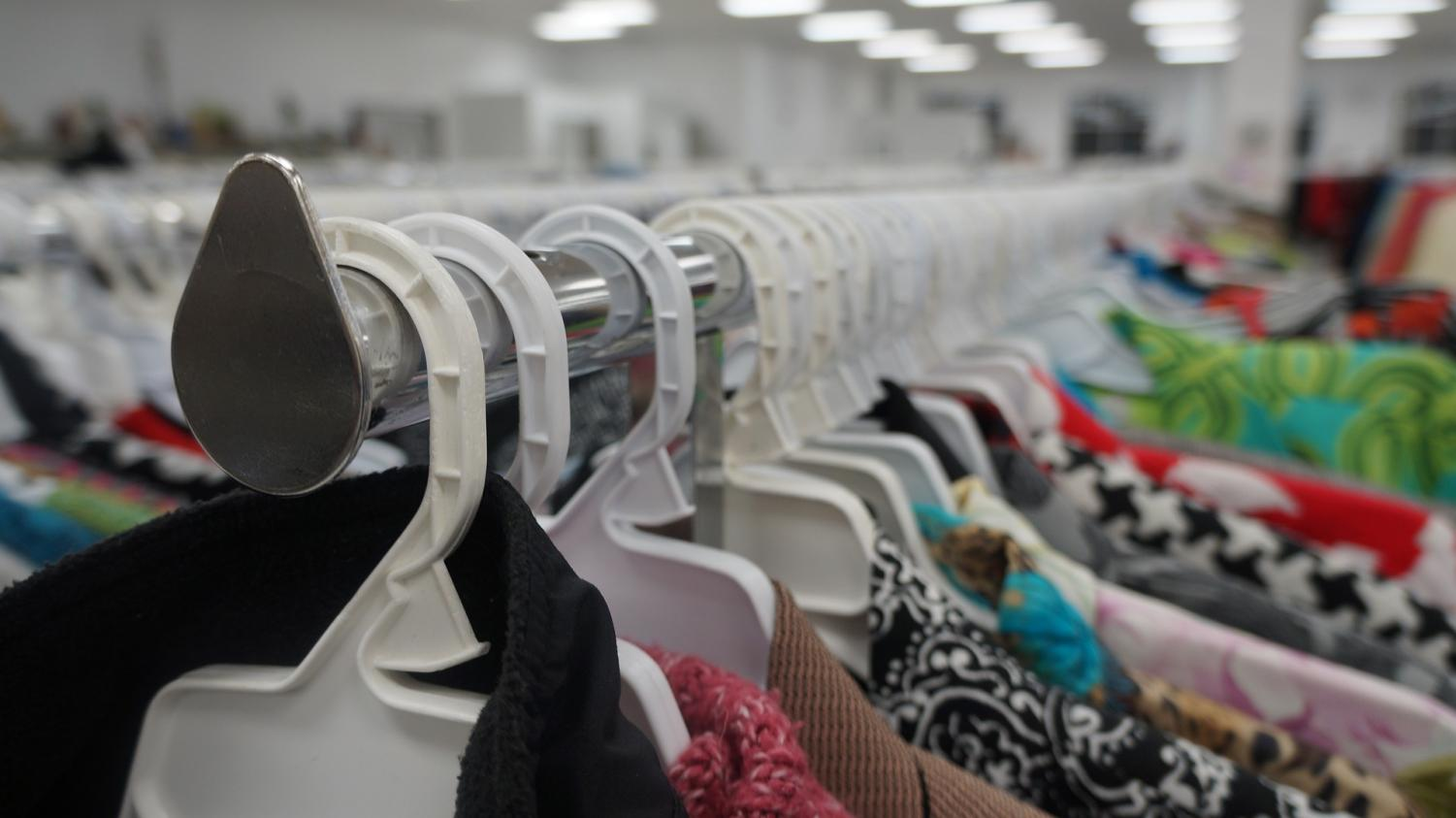 Shopping secondhand is a sustainable alternative to fast fashion.