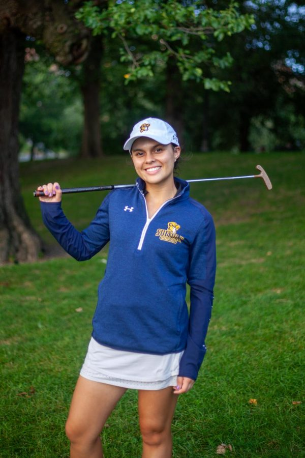 Smith%2C+the+sophomore+biochemistry+major+from+Westford%2C+Mass.%2C+won+back-to-back+Northeast+Women%E2%80%99s+Golf+Conference+%28NWGC%29+player+of+the+week+honors+in+September