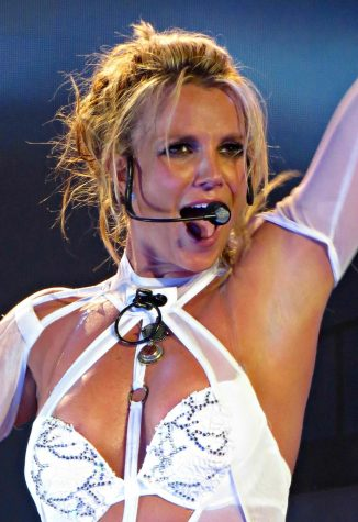 Britney Spears at a 2016 show in Las Vegas. Britney vs Spears was released on Netflix Sept. 28, highlighting her public legal battle over her conservatorship.
